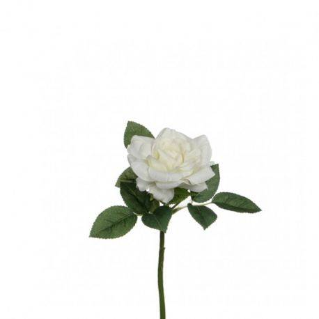 Trandafir artificial Garden Rose White