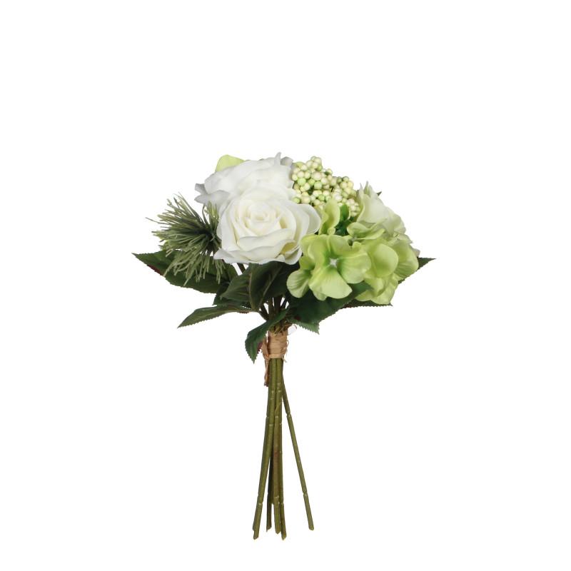Buchet flori artificiale Rose