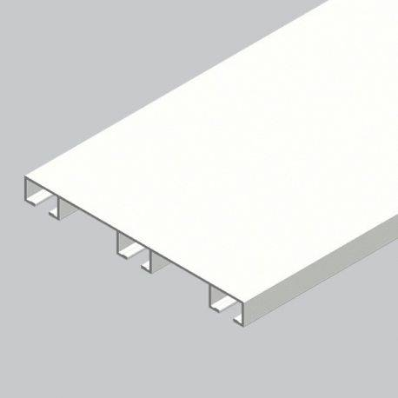 Şină Aluminiu trei canale
