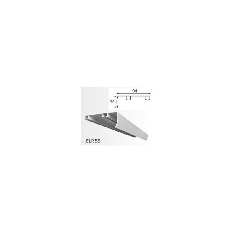 Şină Aluminiu două canale ELR 51