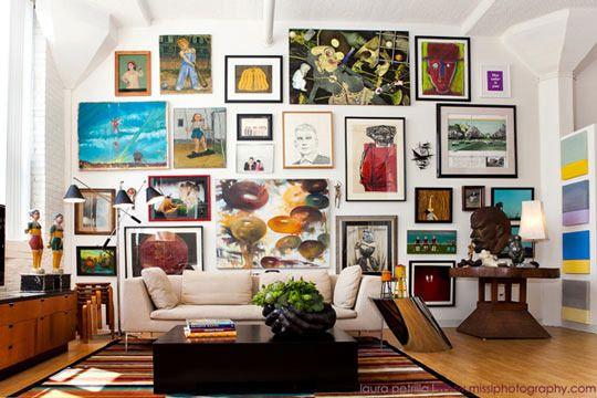 cum sa decorezi un perete alb si gol 5 idei utile si simple. Black Bedroom Furniture Sets. Home Design Ideas